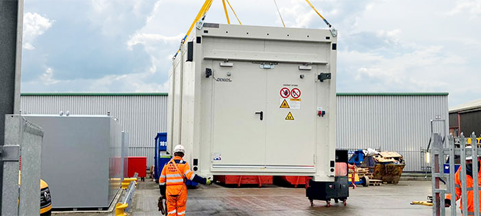 New 90 minute fire rated unit for Integrated Covid Hub North East
