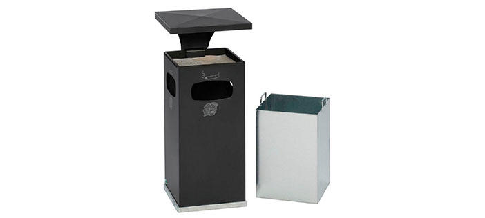 Combined Ashtray / Bin Units