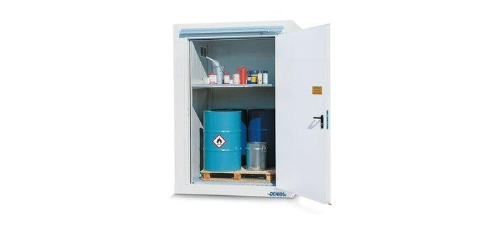 Compact fire-rated storage containers