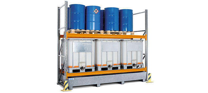 Containment Shelving & Pallet Racking Systems