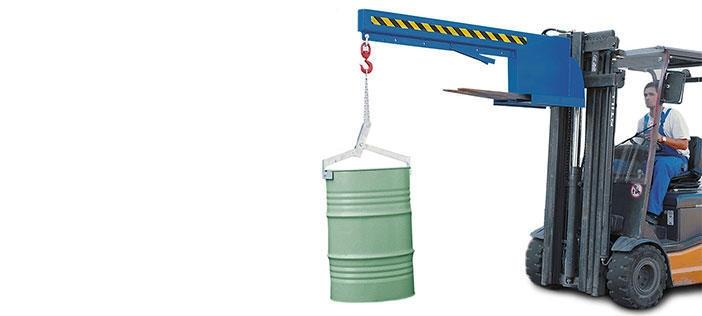 Crane arms for forklifts
