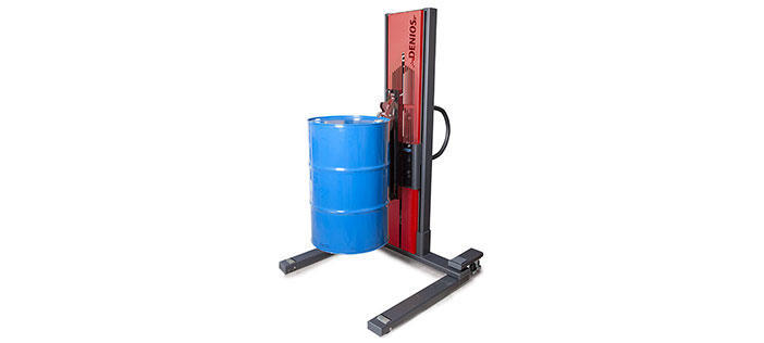 Drum lifting equipment with Ex-protection