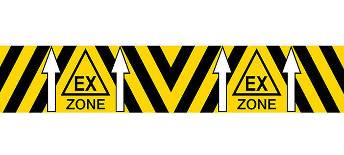Ex Zone Floor Marking