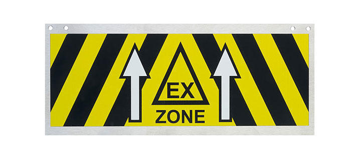 Ex Zone Identification Signs