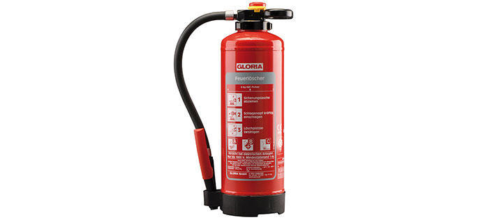 Fire extinguishers and extinguishing granules
