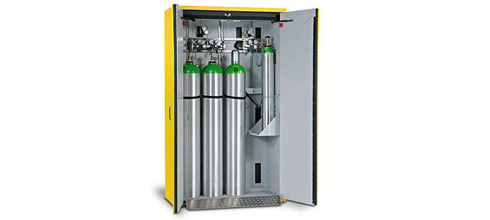 Fire-Rated Gas Cylinder Storage