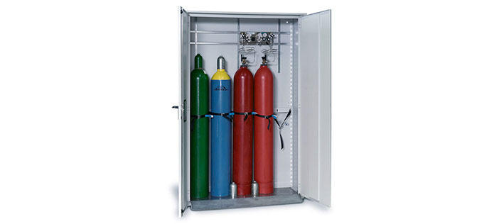 Gas Cages & Cabinets