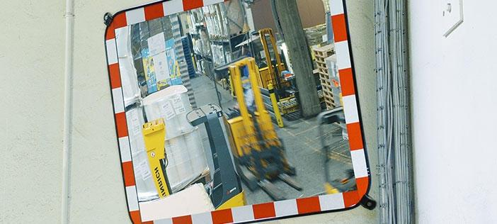 Industrial Safety Mirrors and Traffic Mirrors