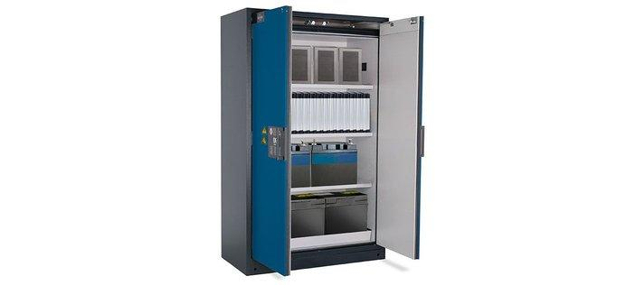 Lithium-ion cabinets