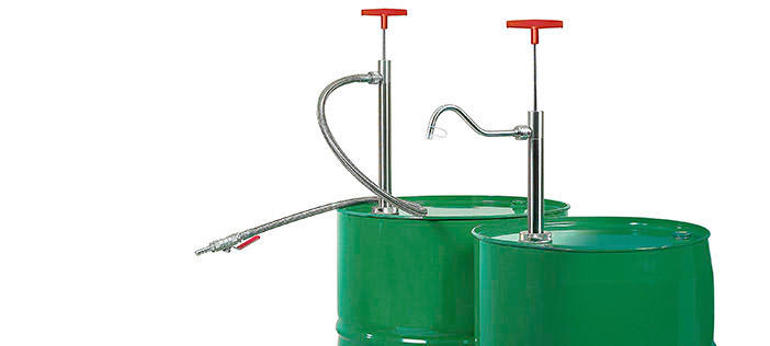 Manual Drum Pumps for Flammables