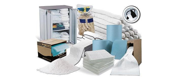 Oil Absorbent Granules and Absorbent Material