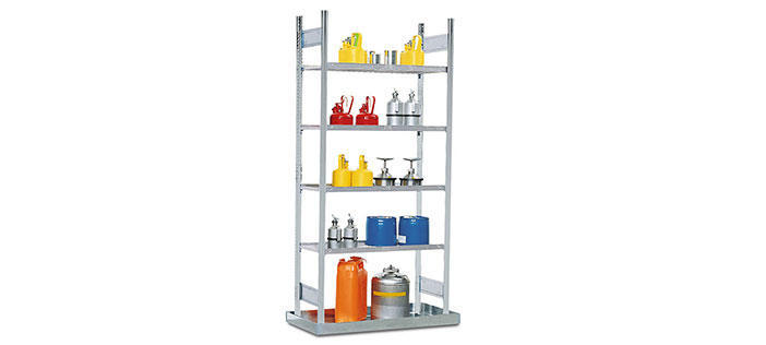 Small Container Shelving