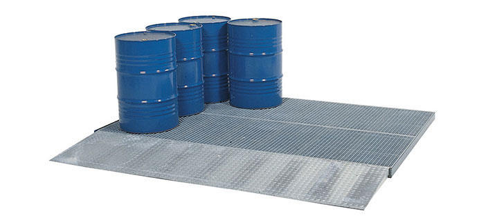 Steel Spillage Decking