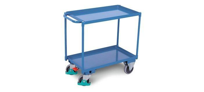 Tiered trolleys and box trolleys