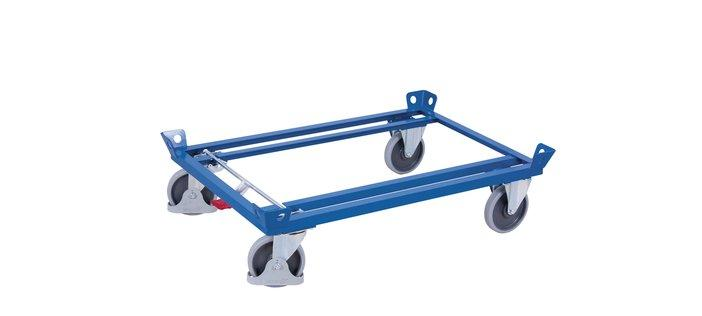 Transport rollers and dollies