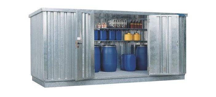 Walk-in Chemical Storage Containers