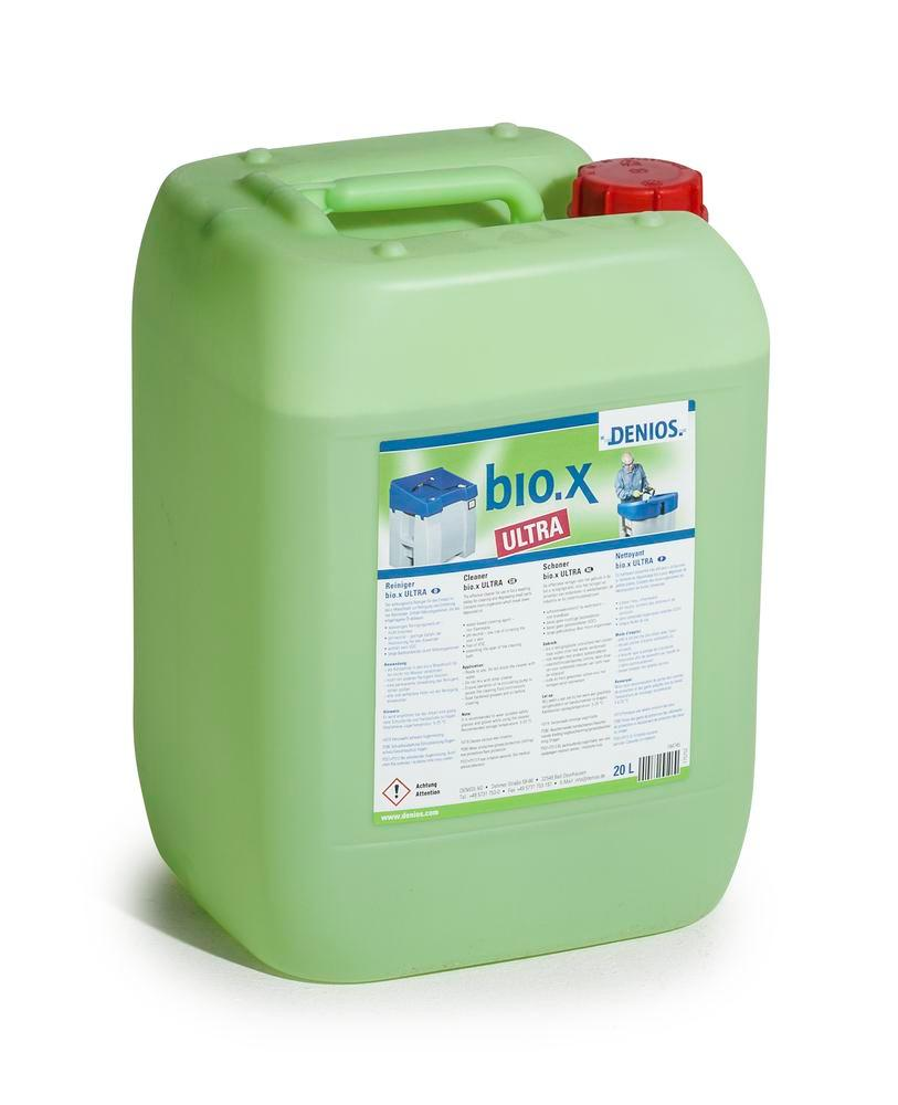 bio. x Ultra cleaning agent, 20 litre, VOC-free, for stubborn dirt, e.g. heavy oils and grease