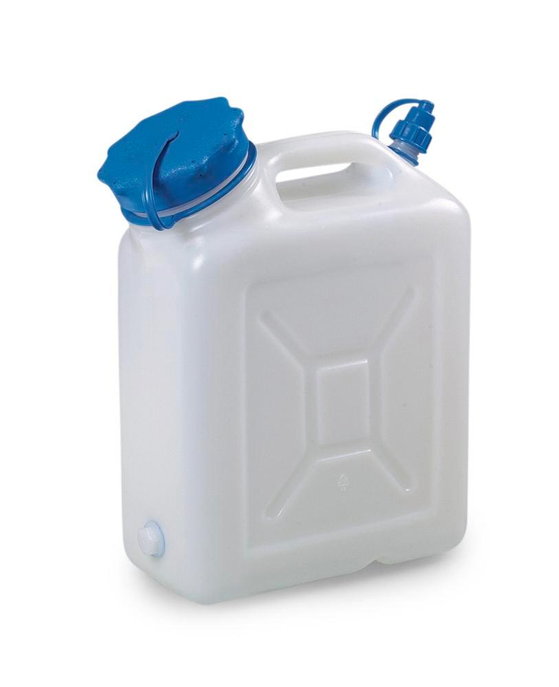 Wide-neck canister, 10 litre capacity, without thread - 1