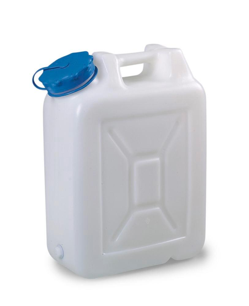Wide-neck canister, 20 litre capacity, without thread