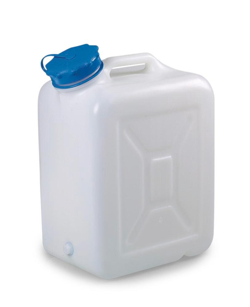 Wide-neck canister, 30 litre capacity, without thread - 1