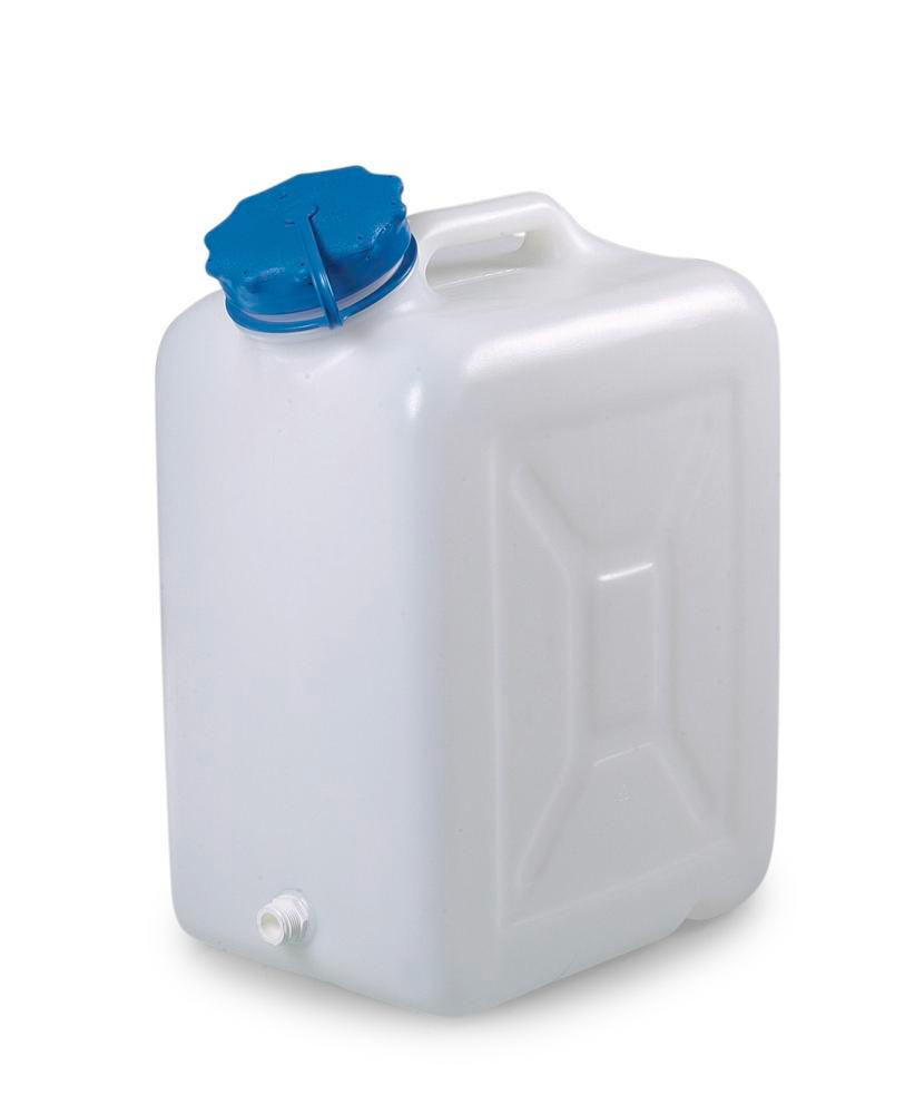 Wide-neck canister, 30 litres capacity, with thread spout - 1