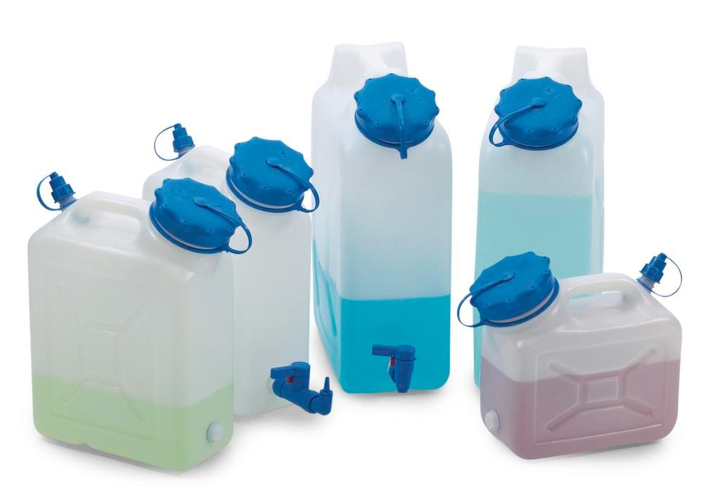 Wide-neck canister, 5 litres capacity, with thread spout - 2