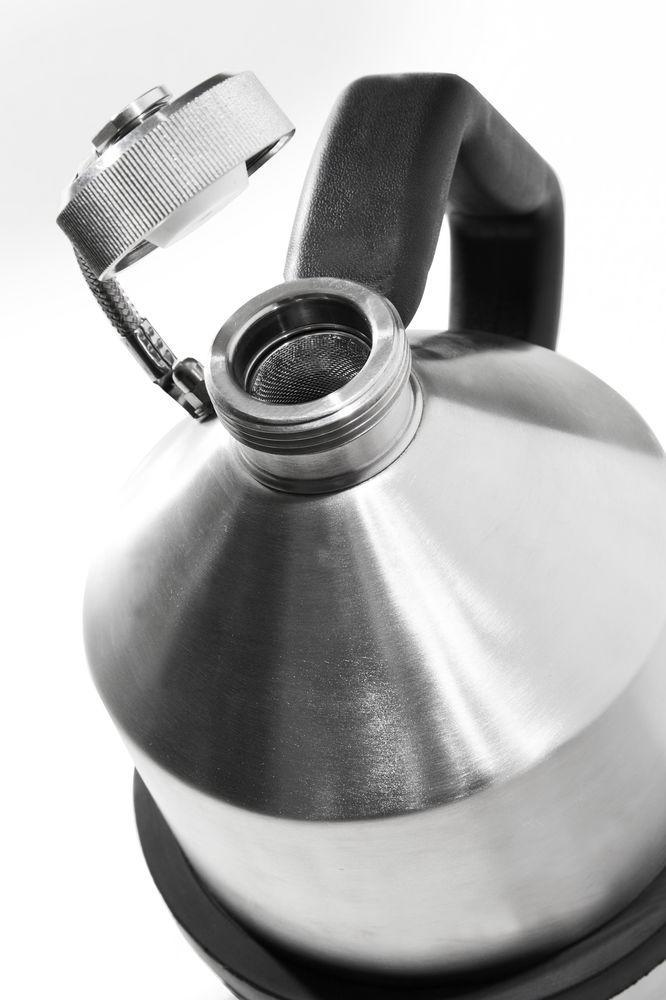 FALCON safety jug in stainless steel, with screw cap, 2 litres - 2