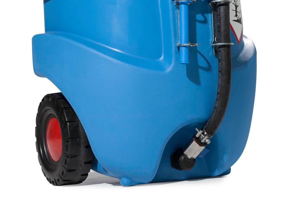 Mobile fuel tank Model Caddy for urea solution AUS 32, 55 litre volume, with hand pump