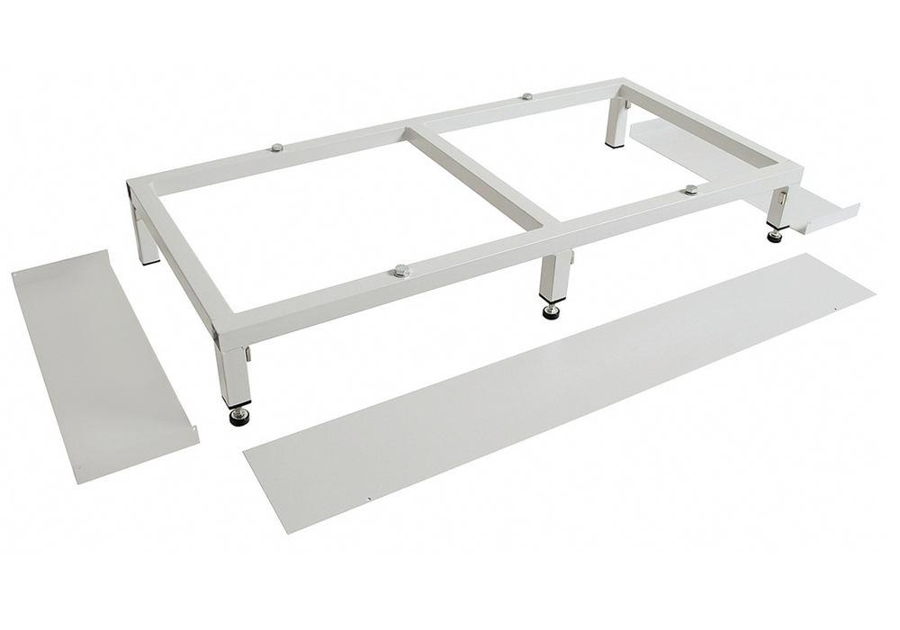 MovaFlex 500 series accessible base, sturdy welded square tube - 1