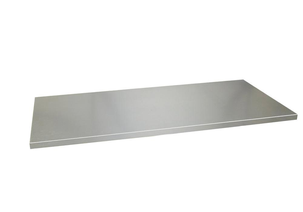 Shelf for roller shutter cabinet, 1000 mm wide, galvanised - 1