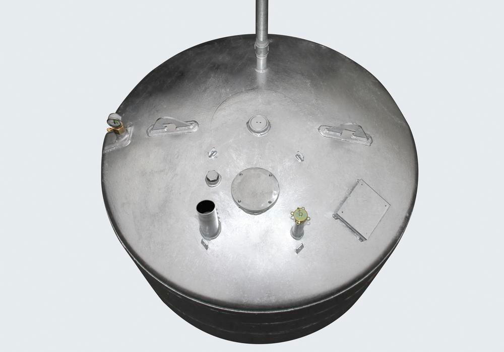 Storage tank Model LT for water-polluting liquids with a flashpoint below 55°C, 600 L