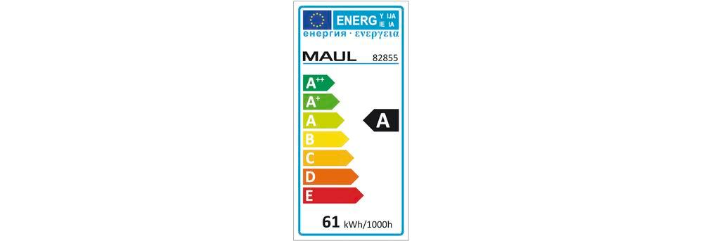 Energy saving standard lamp MAULcentauri, dimmable, H 1900 mm - 4