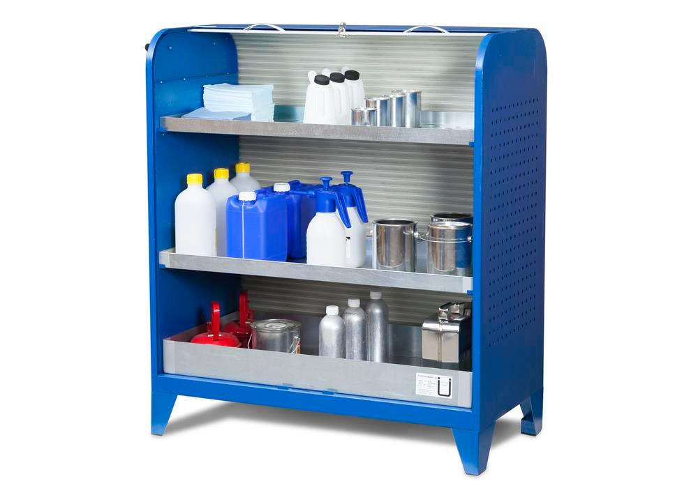 Fix chemical small items cabinet, on feet - 1