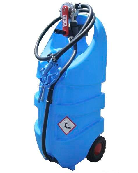 Mobile fuel tank Model Caddy for urea solution AUS 32, 110 litre volume, with hand pump - 1