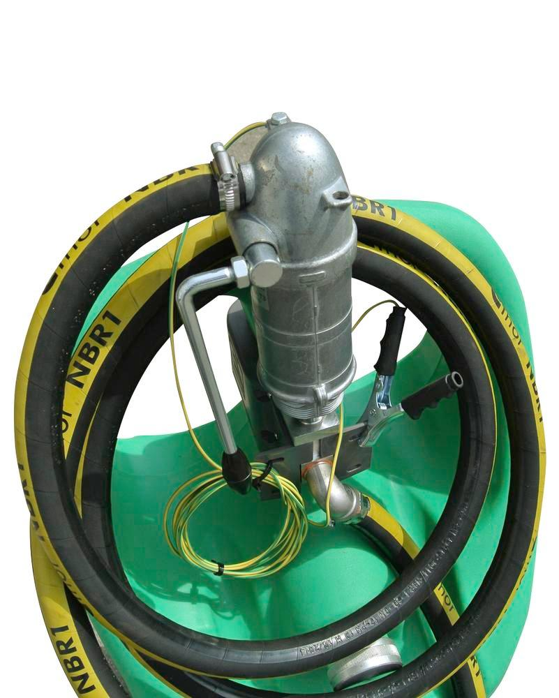 Mobile petrol fuel tank Model Caddy, 55 litre volume, with hand pump, ATEX