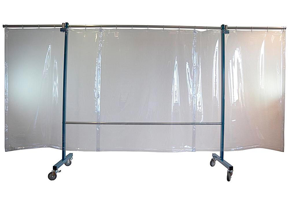 Mobile protective curtain FSV 3, clear