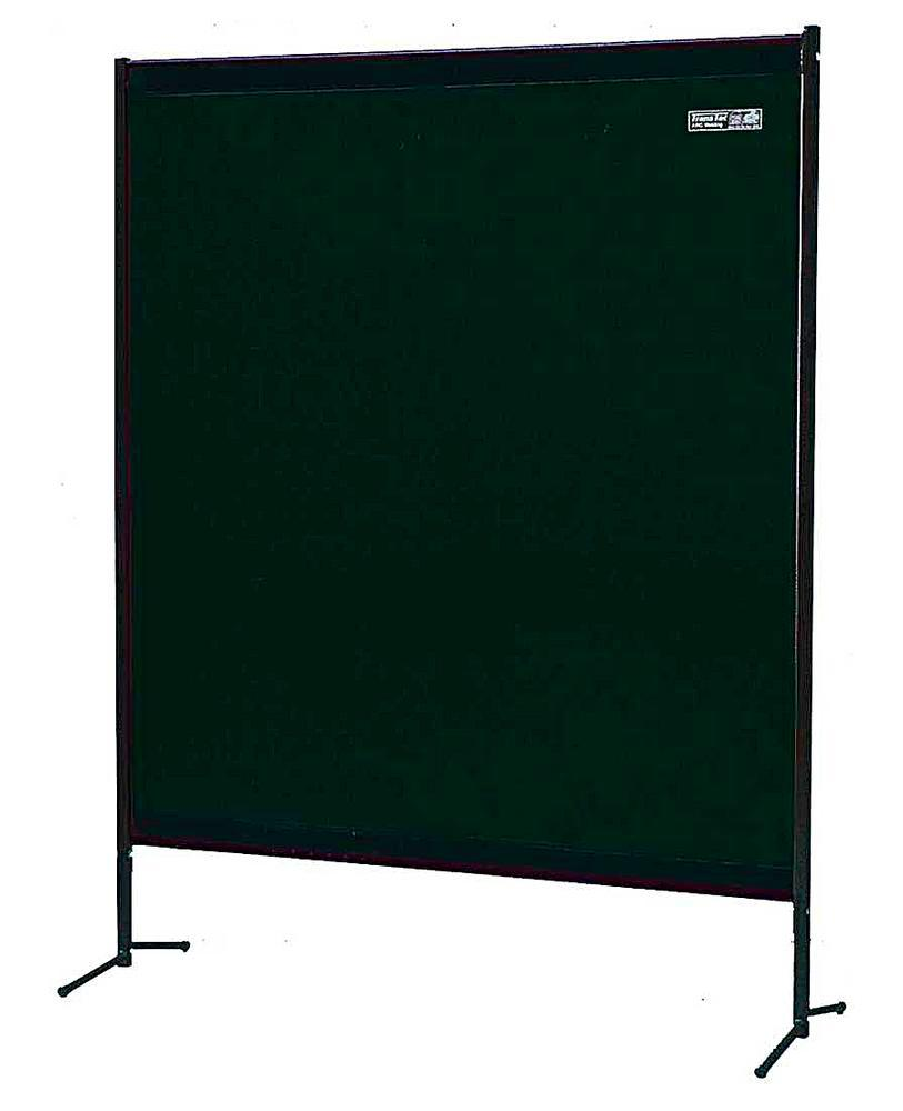 Portable protective curtain TSV 1G,matt green