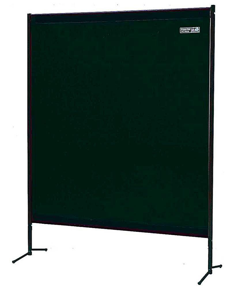 Portable protective curtain TSV 2G,matt green
