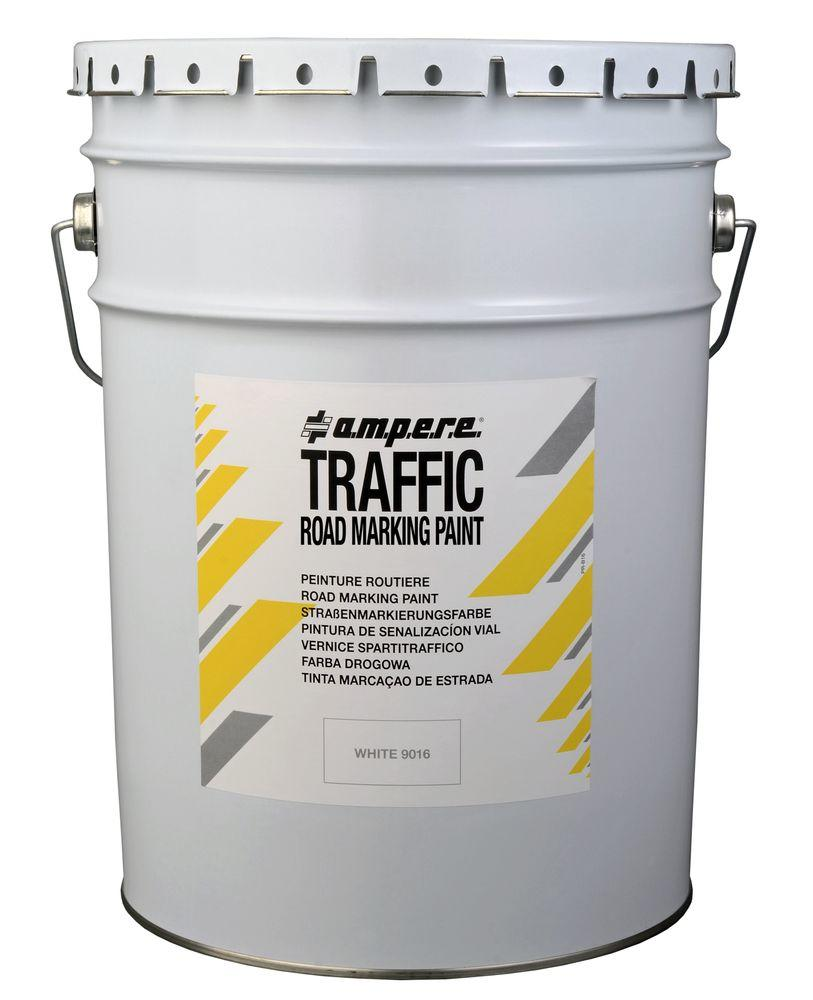 Road marking paint, 1 bucket, Traffic Paint, red, 25 kg
