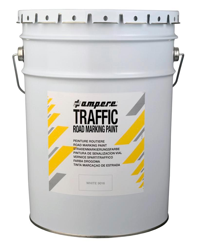 Road marking paint, 1 bucket, Traffic Paint, white, 25 kg