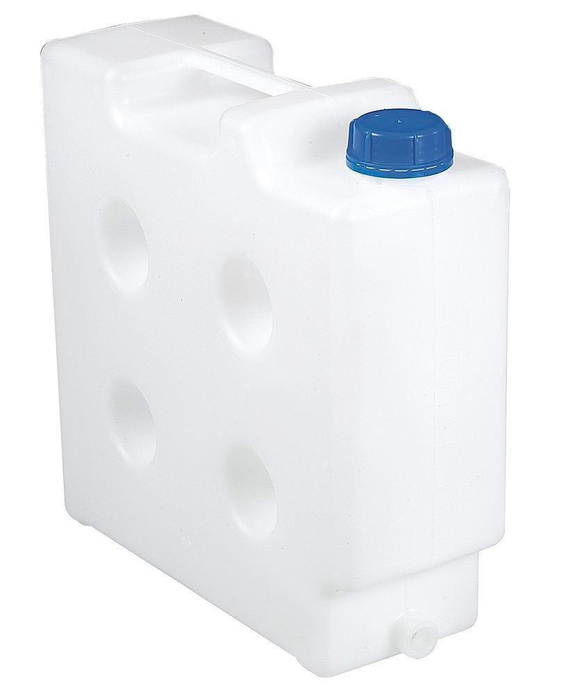 Space saver canister,10 l with thread spout