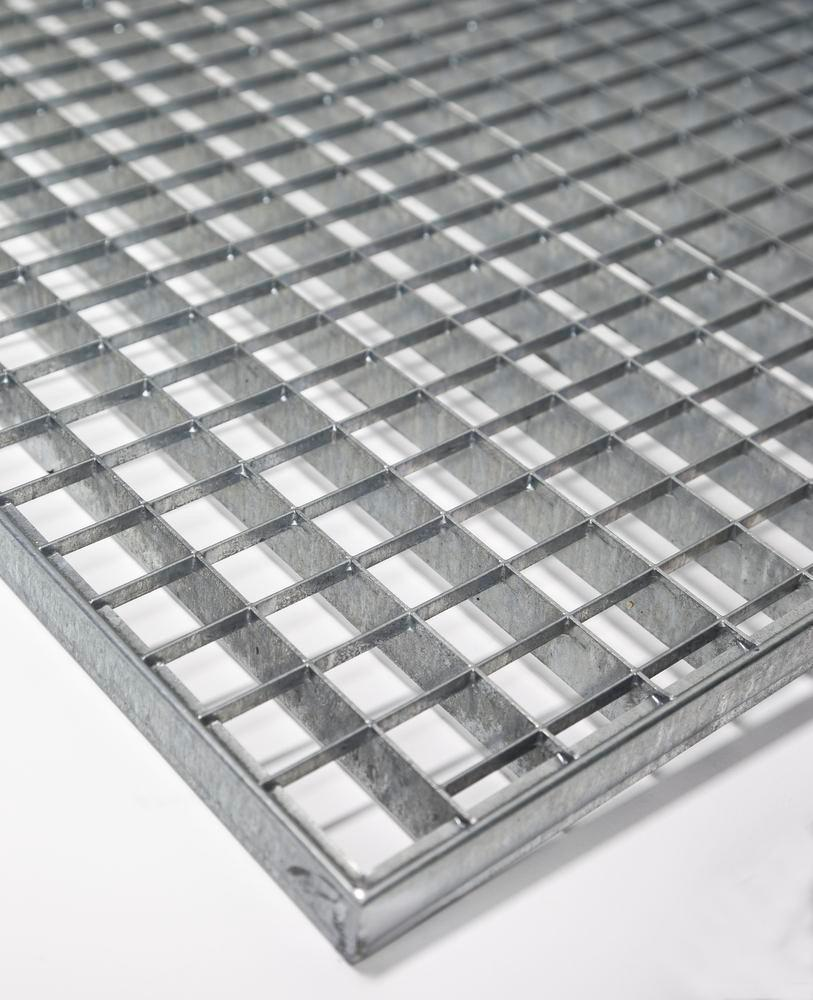 Grid, galvanized steel, for sump pallet PolySafe PSW 6.2 - 1