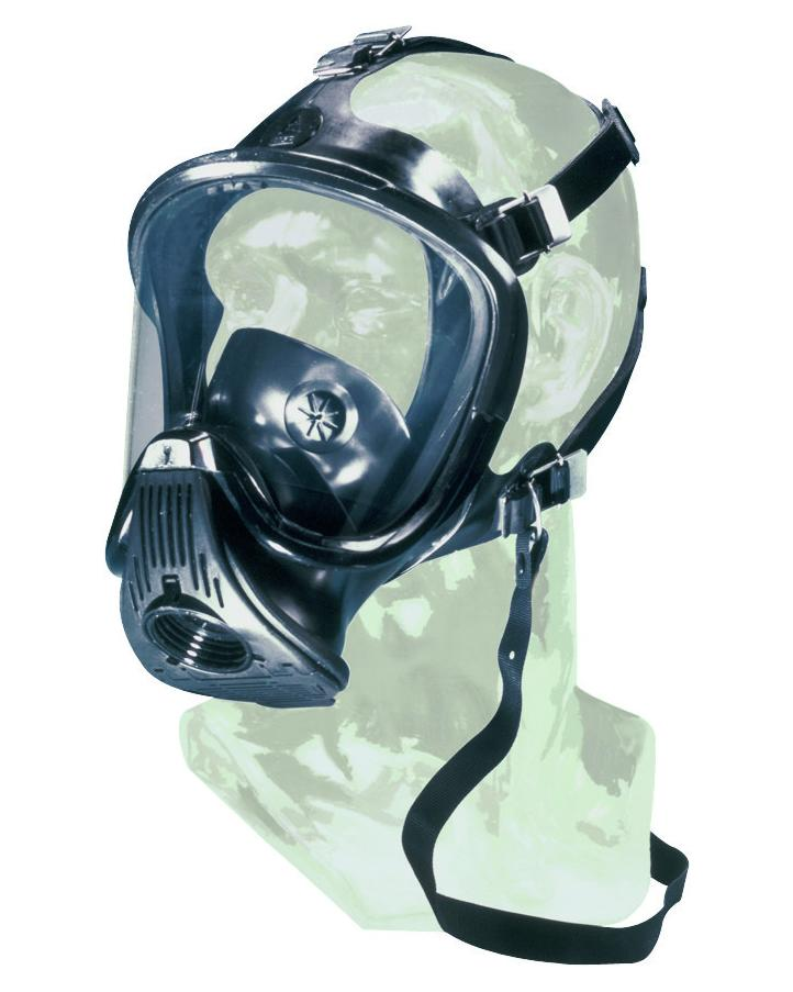 MSA full mask Ultra Elite, universal size, in rubber, without filter, EN 136-Class 3 - 1