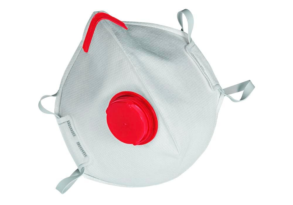 MSA respirator mask Affinity 2131, FFP3 NR D, folding, with exhale valve, Pack = 15 pieces - 1
