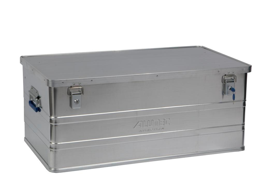 Aluminium box Classic, without stacking corners, 142 litre volume