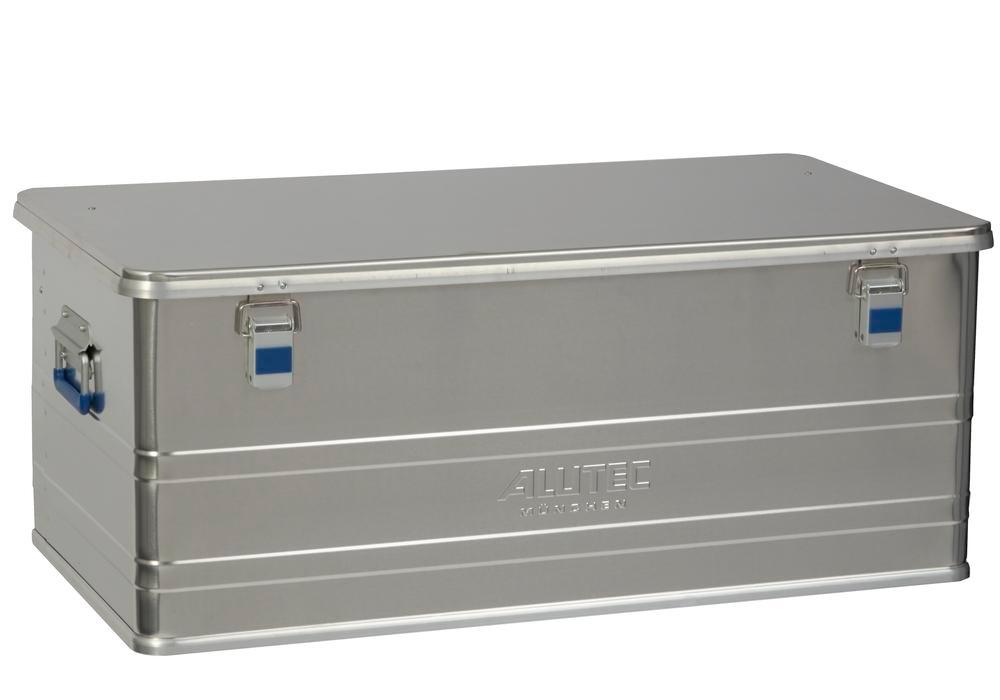 Aluminium box Comfort, without stacking corners, 140 litre volume