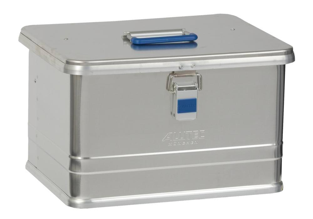 Aluminium box Comfort, without stacking corners, 30 litre volume