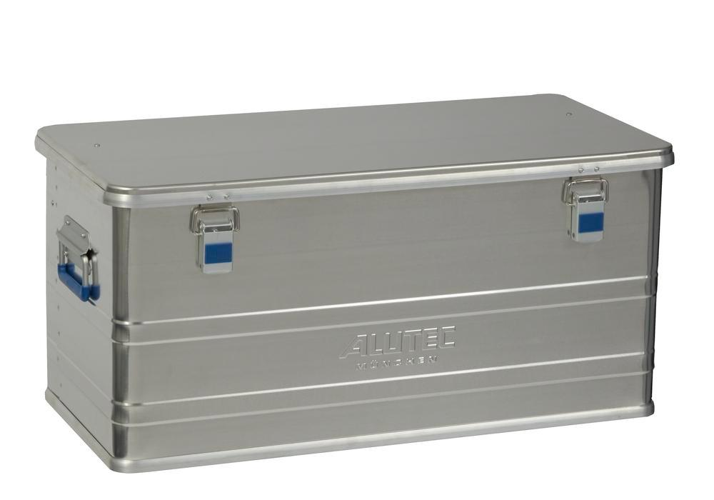 Aluminium box Comfort, without stacking corners, 92 litre volume