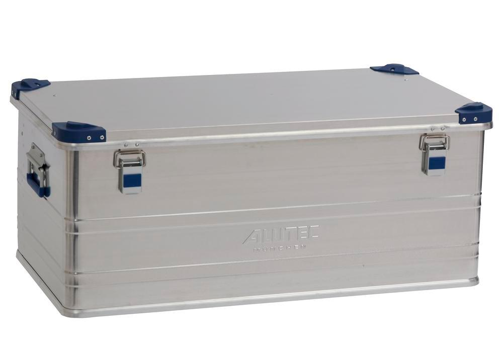 Aluminium box Industry, with stacking corners, 140 litre capacity