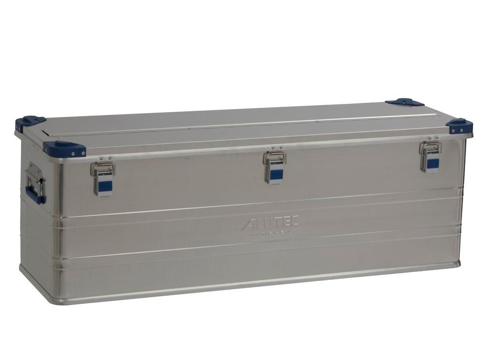 Aluminium box Industry, with stacking corners, 153 litre volume